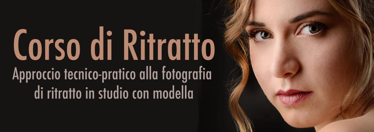 Corso di ritratto in studio con modella mestre venezia